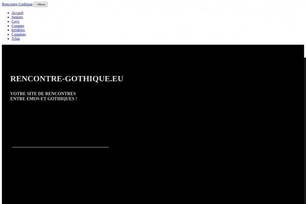 Test de Rencontre-Gothique.eu