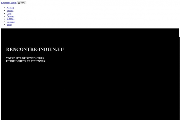Rencontre-Indien.eu : Site de Rencontres pour ethniques