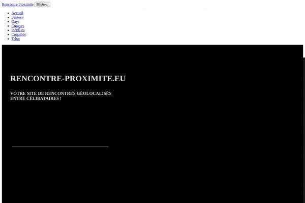 Faire une rencontre locale - Rencontre-Proximite.eu