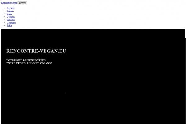 Découvrez Rencontre-Vegan.eu