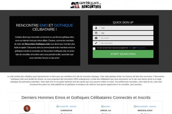Rencontres underground : Rencontres-Gothiques.club