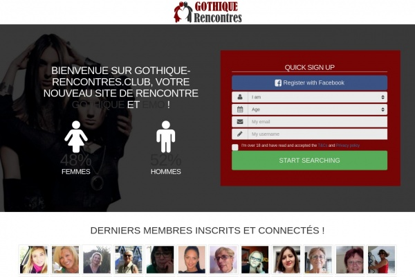 Gothique-Rencontres.club : Rencontres goths