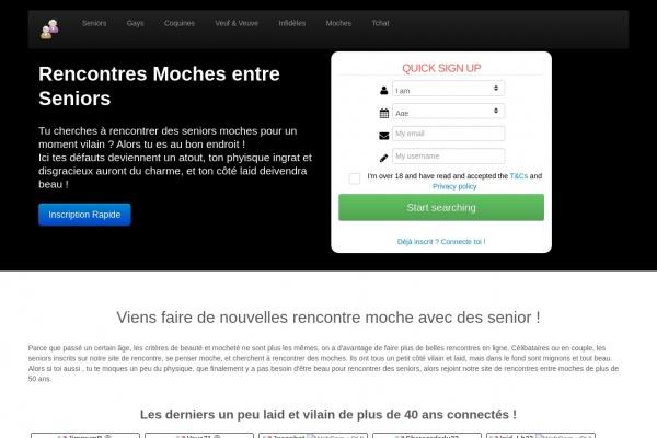 Des Rencontres célibataires moches sur Moches.Zoneseniors.com