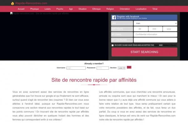 Rencontre célibataire sérieuse sur Rapide-Rencontres.com