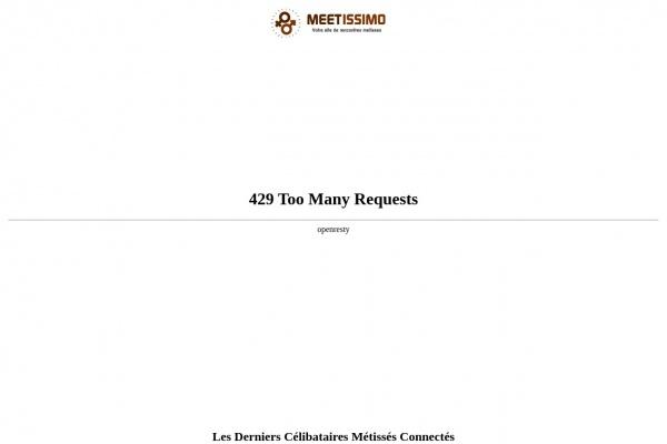 Nouveauté : Meetissimo.com