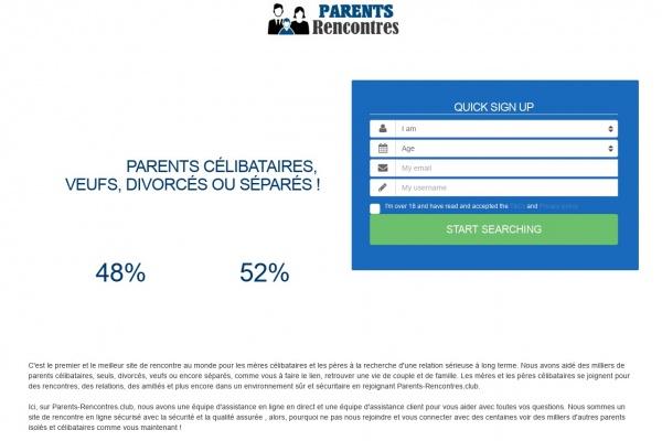 Parents-Rencontres.club : Meilleur site pour rencontrer un parentale