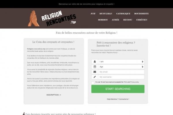 Religion-Rencontres.top - Un site pour religions
