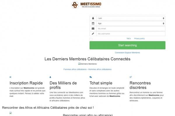 Test de Afro.Meetissimo.com
