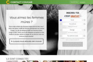 Contactcougar.com : Meilleur site pour rencontrer une cougar