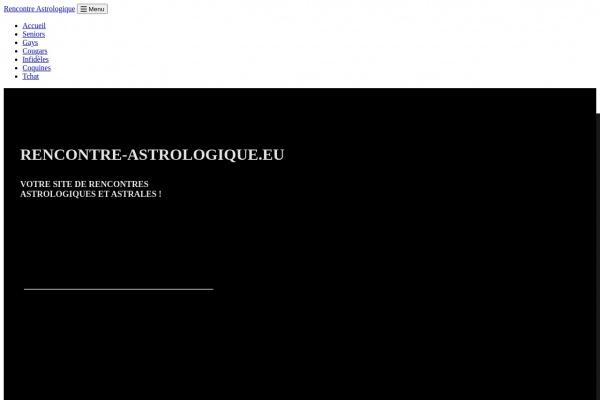 Des femmes et hommes astrales à rencontrer sur Rencontre-Astrologique.eu