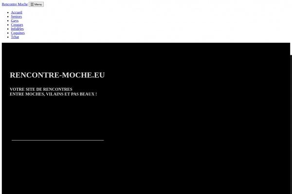 Rencontre-Moche.eu : Rencontres entre physiques