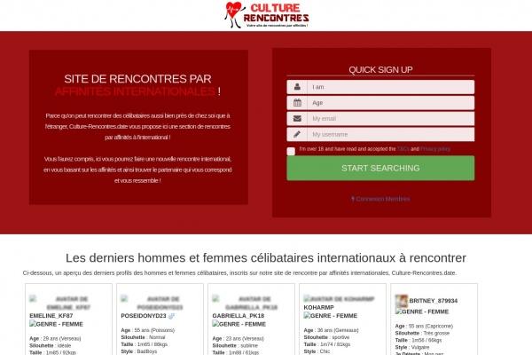 Rencontre international : International.Culture-Rencontres.date