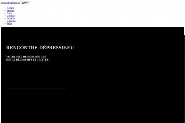 Rencontre-Depressif.eu